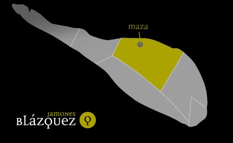 Maza | Jamones Blázquez