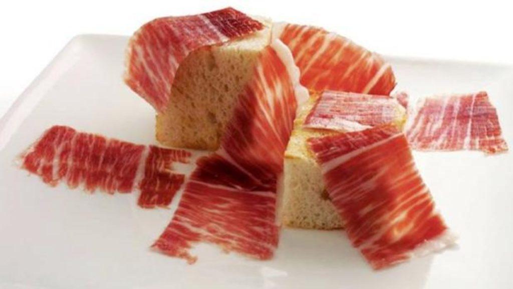 Jamón con pan